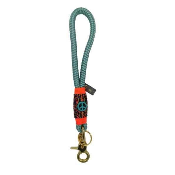 Mini Schlüsselband: Hippie Red Sea 1