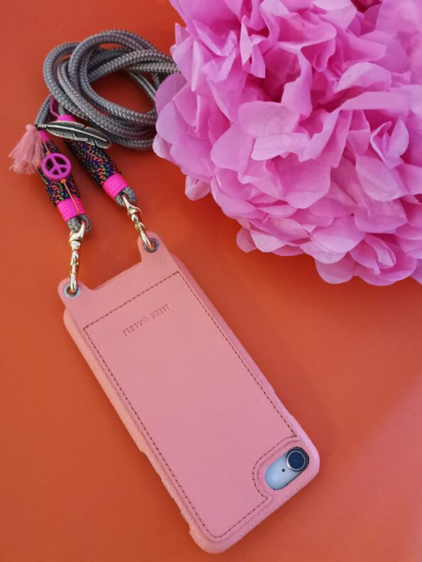 Smartphone Necklace Fancy Pink 4