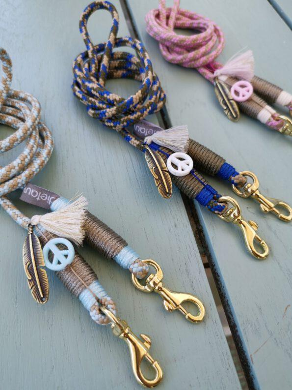 Smartphone Necklace Fancy Pastel Blue 3