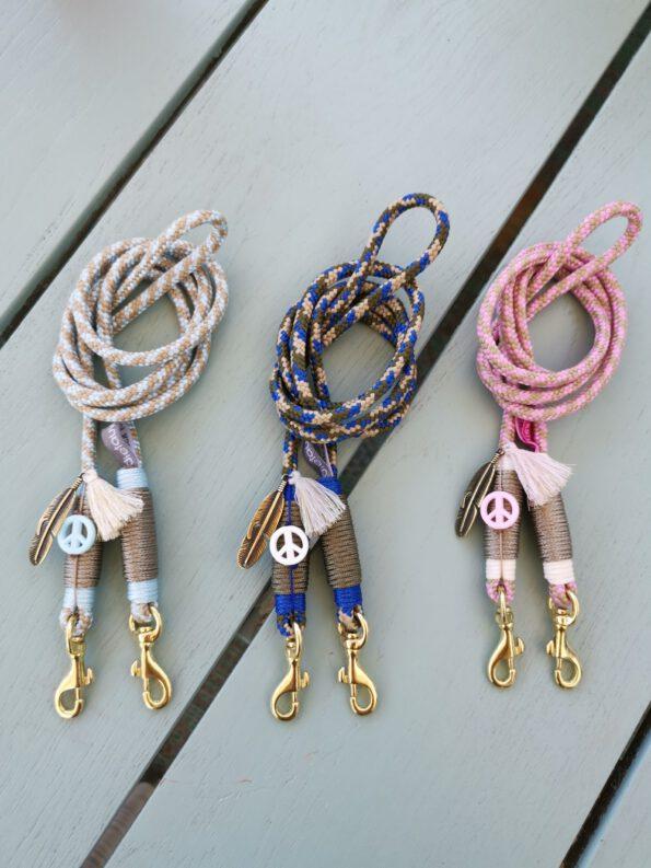 Smartphone Necklace Fancy Pastel Blue 4