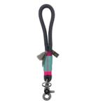 Mini Schlüsselband: Ibiza Neon Grey 1